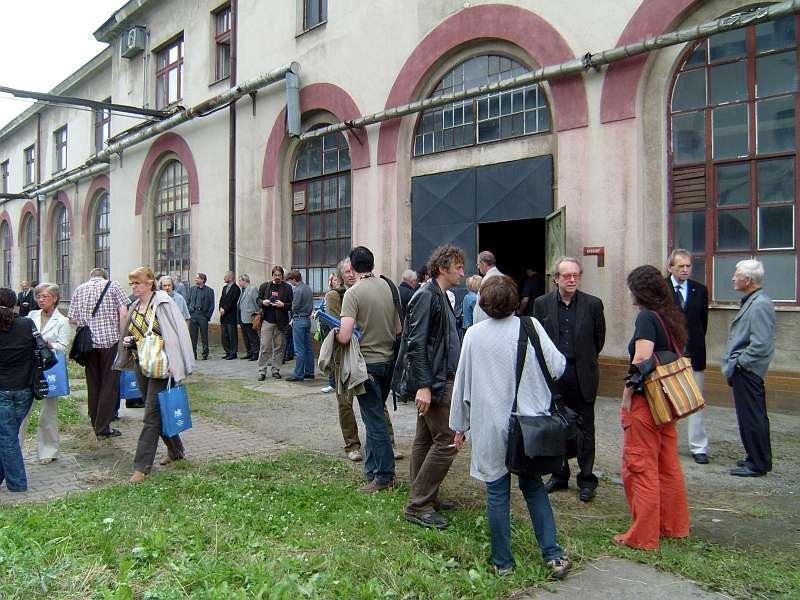 Představení publikace 15. 7. 2008 v depu Masarykova nádraží v Praze - foto: Jan Zikmund