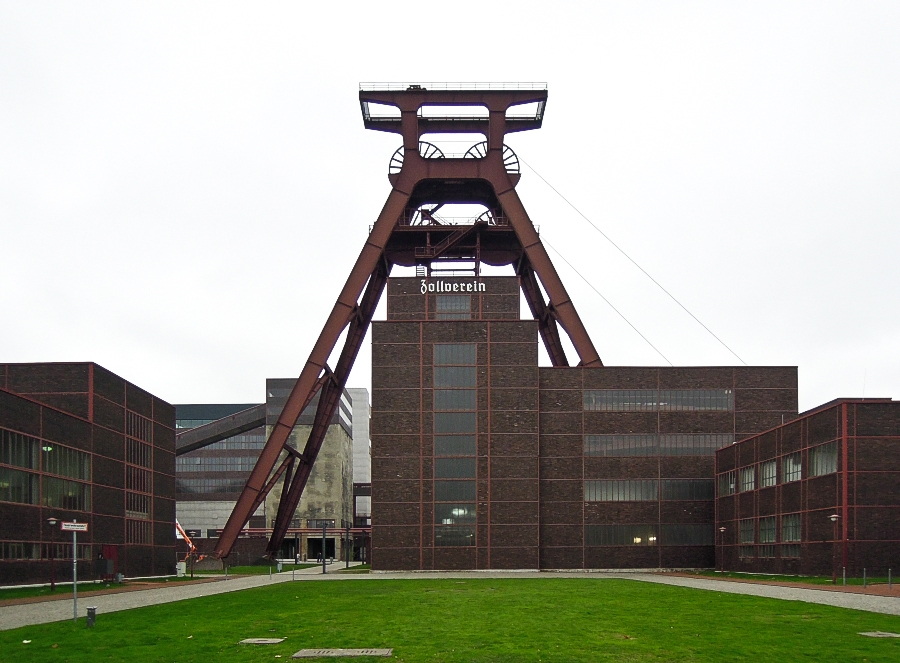 Essen - Důl Zollverein (jáma 12) - foto: Jan Zikmund