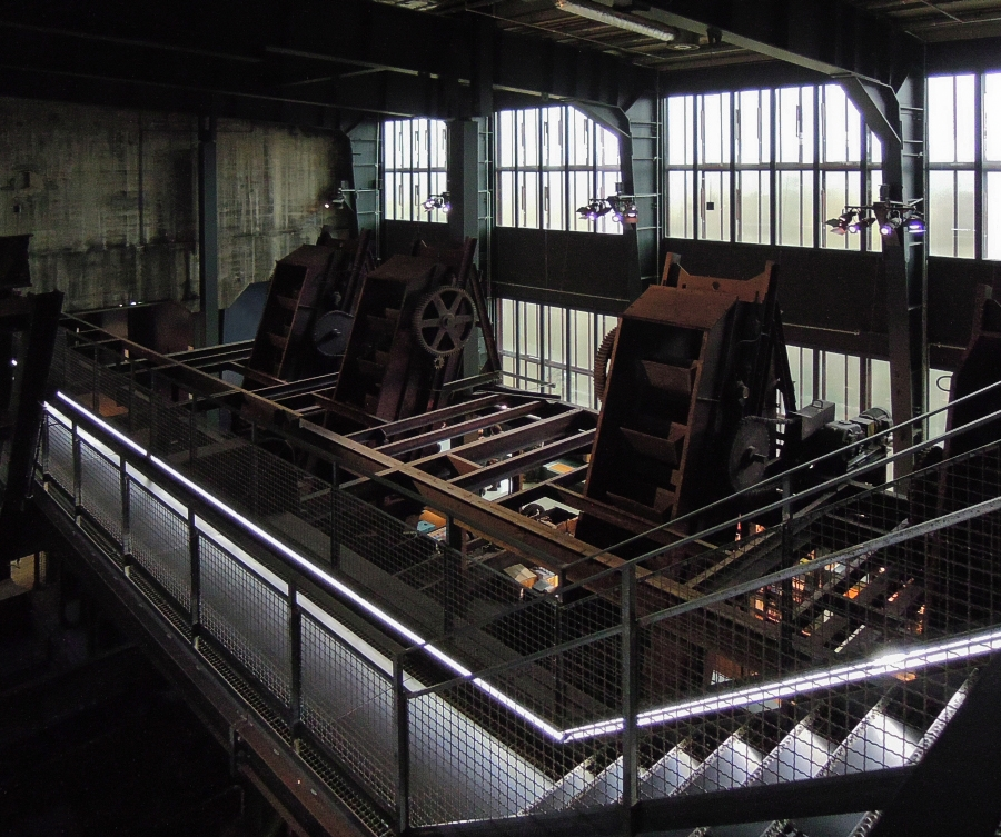 Essen - Důl Zollverein (uhelné prádlo) - foto: Jan Zikmund