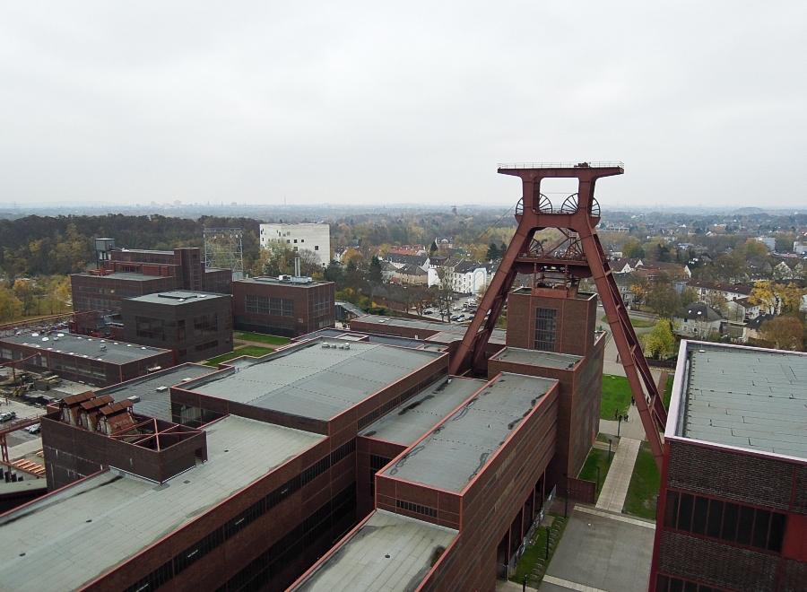 Essen - Důl Zollverein (jáma 12) - foto: Jan Zikmund