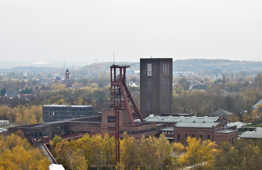 Essen - Důl Zollverein (jáma 1/2/8) - foto: Jan Zikmund