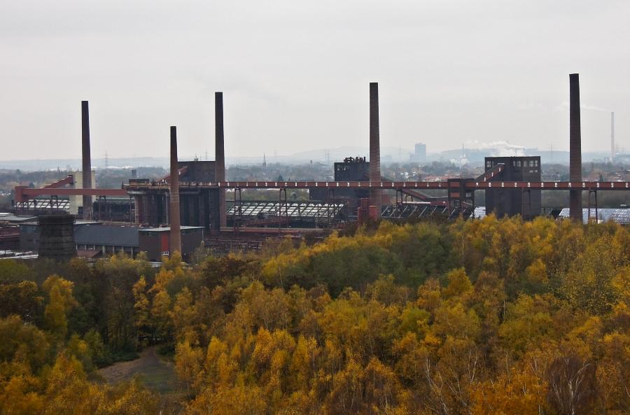 Essen - Důl Zollverein (koksovna) - foto: Jan Zikmund