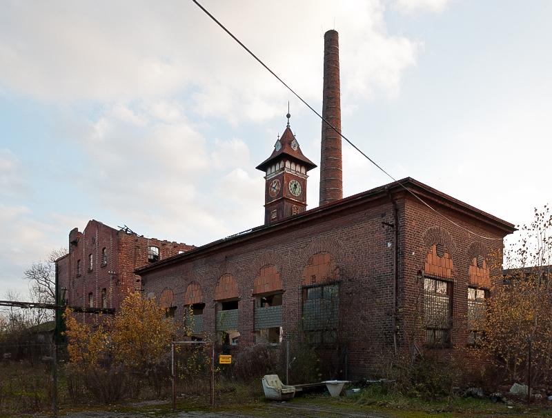 Leopold Beckmann a spol., továrny na usně, Hradec Králové-Kukleny – připraveno k demolici (foto Jan Zikmund, 2012)