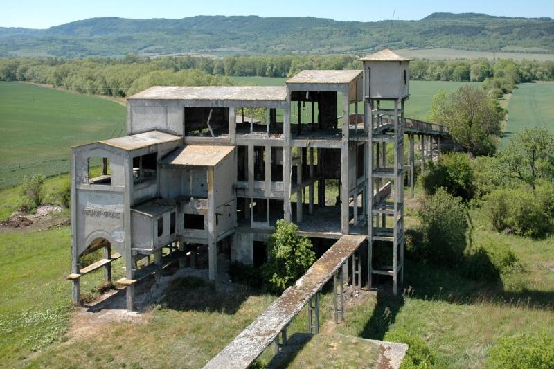 Třídírna dolu Prokop, Vilémov-Zahořany – zbořeno na konci roku 2012 (foto Martin Vonka, 2008)