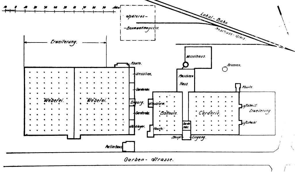 SWA IV, schematický půdorys – Baum 1913