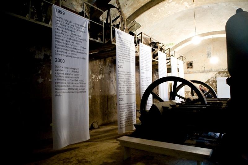 Výstava ve Staré kanalizační čistírně - foto: Gabriel Fragner