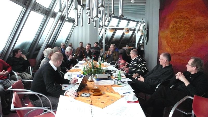 Snímek ze setkání na Ještědu - foto: Vladislava Valchářová