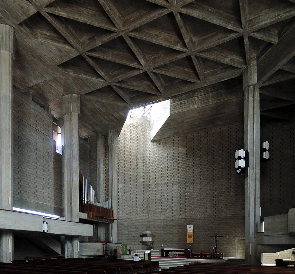 docomomo Lisboa – Kostel Nejsvětějšího Srdce Ježíšova (foto Jan Zikmund, 2016)