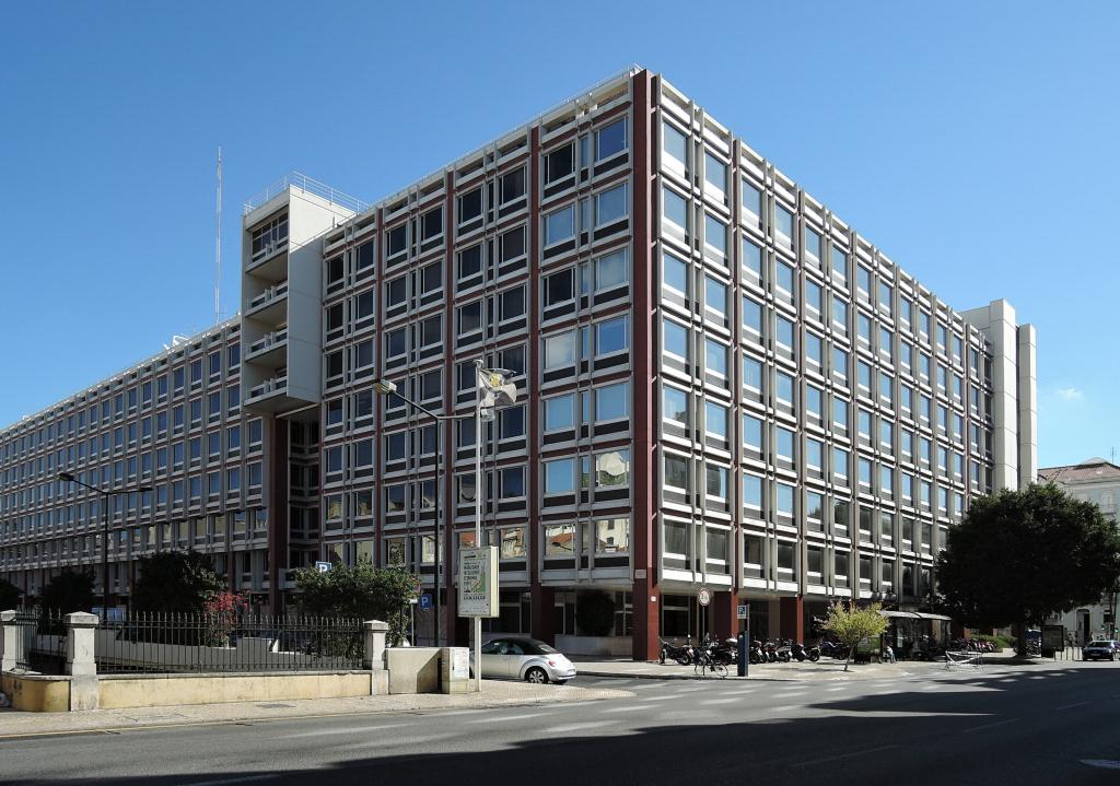 docomomo Lisboa – poválečná lisabonská architektura, 8CCGPVG7+MP (foto Jan Zikmund, 2016)