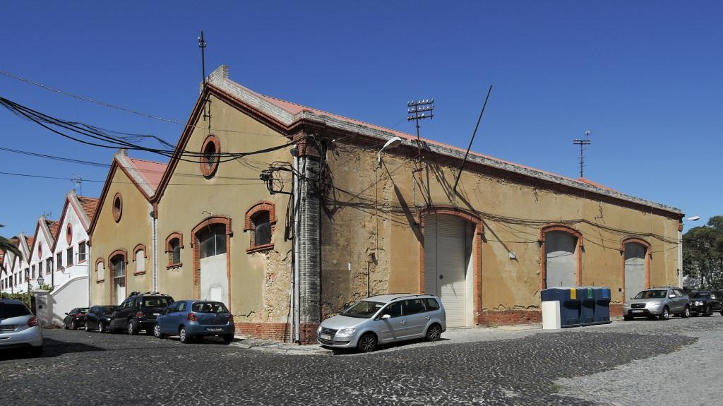 docomomo Lisboa – lisabonský industriál, 8CCGPVQW+MJ (foto Jan Zikmund, 2016)